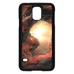 3d Illustration Of A Mysterious Place Samsung Galaxy S5 Case (Black)
