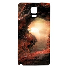 3d Illustration Of A Mysterious Place Galaxy Note 4 Back Case