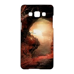 3d Illustration Of A Mysterious Place Samsung Galaxy A5 Hardshell Case