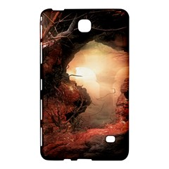 3d Illustration Of A Mysterious Place Samsung Galaxy Tab 4 (7 ) Hardshell Case