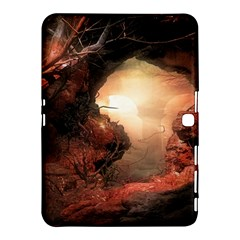 3d Illustration Of A Mysterious Place Samsung Galaxy Tab 4 (10.1 ) Hardshell Case