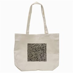 Metal Background With Round Holes Tote Bag (cream)