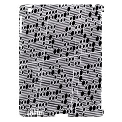 Metal Background With Round Holes Apple iPad 3/4 Hardshell Case (Compatible with Smart Cover)
