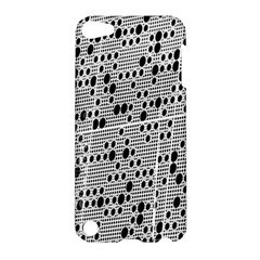 Metal Background With Round Holes Apple iPod Touch 5 Hardshell Case