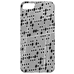 Metal Background With Round Holes Apple iPhone 5 Classic Hardshell Case
