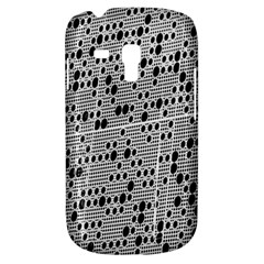 Metal Background With Round Holes Galaxy S3 Mini