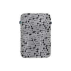 Metal Background With Round Holes Apple iPad Mini Protective Soft Cases