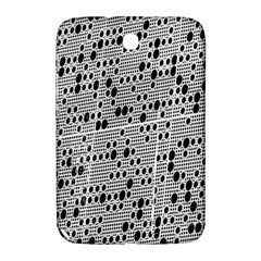 Metal Background With Round Holes Samsung Galaxy Note 8.0 N5100 Hardshell Case