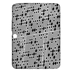 Metal Background With Round Holes Samsung Galaxy Tab 3 (10.1 ) P5200 Hardshell Case