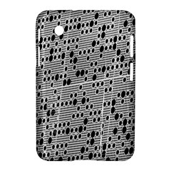 Metal Background With Round Holes Samsung Galaxy Tab 2 (7 ) P3100 Hardshell Case