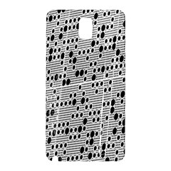 Metal Background With Round Holes Samsung Galaxy Note 3 N9005 Hardshell Back Case
