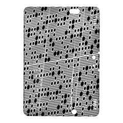 Metal Background With Round Holes Kindle Fire HDX 8.9  Hardshell Case
