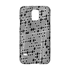 Metal Background With Round Holes Samsung Galaxy S5 Hardshell Case