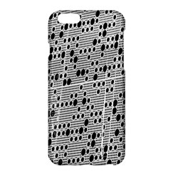 Metal Background With Round Holes Apple iPhone 6 Plus/6S Plus Hardshell Case