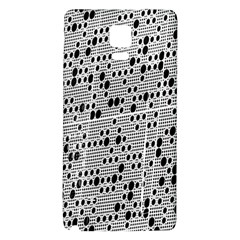 Metal Background With Round Holes Galaxy Note 4 Back Case