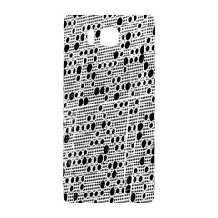 Metal Background With Round Holes Samsung Galaxy Alpha Hardshell Back Case