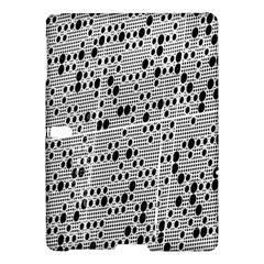 Metal Background With Round Holes Samsung Galaxy Tab S (10 5 ) Hardshell Case