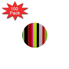 Stripe Background 1  Mini Buttons (100 pack)