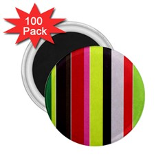Stripe Background 2.25  Magnets (100 pack)