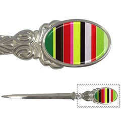 Stripe Background Letter Openers