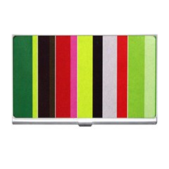 Stripe Background Business Card Holders