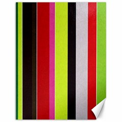 Stripe Background Canvas 12  x 16