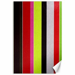 Stripe Background Canvas 24  X 36