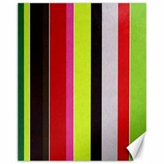 Stripe Background Canvas 11  x 14