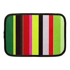 Stripe Background Netbook Case (Medium)