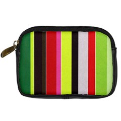 Stripe Background Digital Camera Cases