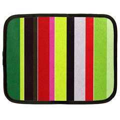 Stripe Background Netbook Case (XXL)