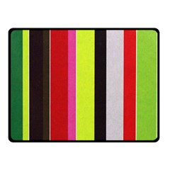 Stripe Background Fleece Blanket (Small)