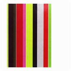 Stripe Background Small Garden Flag (two Sides)