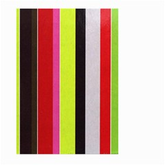 Stripe Background Large Garden Flag (Two Sides)