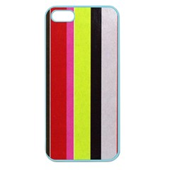 Stripe Background Apple Seamless Iphone 5 Case (color)