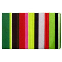 Stripe Background Apple Ipad 2 Flip Case