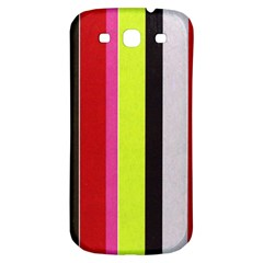 Stripe Background Samsung Galaxy S3 S Iii Classic Hardshell Back Case