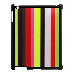 Stripe Background Apple iPad 3/4 Case (Black)