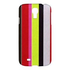 Stripe Background Samsung Galaxy S4 I9500/I9505 Hardshell Case