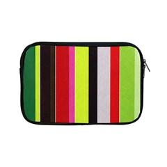 Stripe Background Apple Ipad Mini Zipper Cases