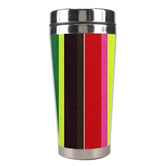 Stripe Background Stainless Steel Travel Tumblers