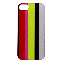 Stripe Background Apple iPhone 5S/ SE Hardshell Case