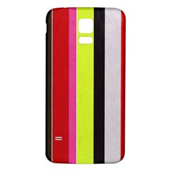 Stripe Background Samsung Galaxy S5 Back Case (white)