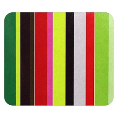 Stripe Background Double Sided Flano Blanket (Small)