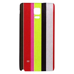 Stripe Background Galaxy Note 4 Back Case