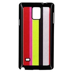 Stripe Background Samsung Galaxy Note 4 Case (Black)