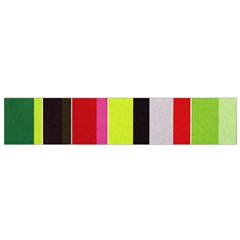 Stripe Background Flano Scarf (small)