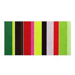 Stripe Background Satin Wrap