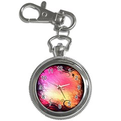 Floral Frame Surrealistic Key Chain Watches