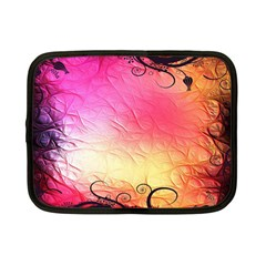 Floral Frame Surrealistic Netbook Case (Small)
